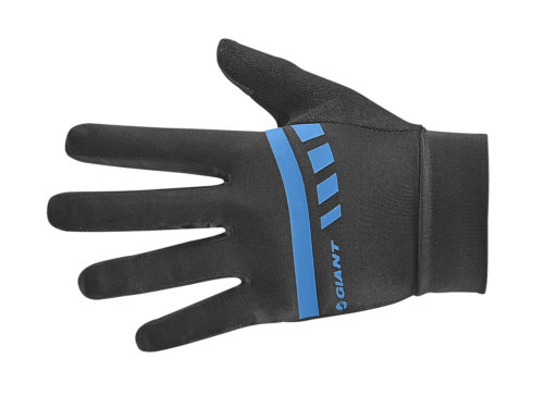 Podium gel long finger gloves front